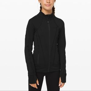 """Black ivivva """"Perfect your practice"""" jacket"""